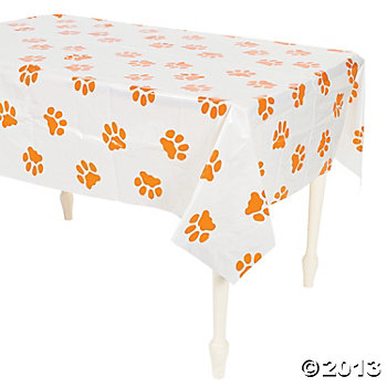 Pawprint Plastic Tablecover