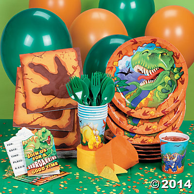 Dino-Mite Party Pack for 8