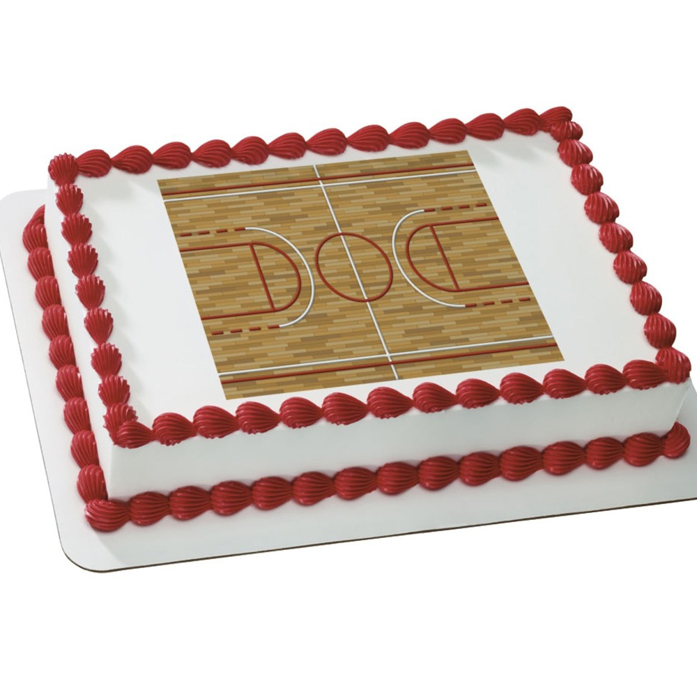 Basketball Edible Cake Images : Basketball Themed Party Supplies Party Supplies Canada ...