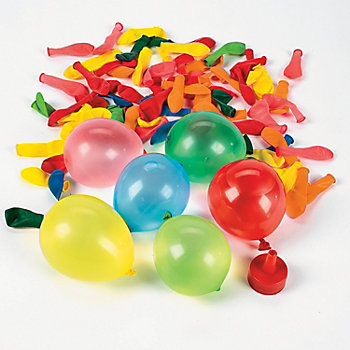 how to make a water balloon filler