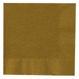 Gold Beverage Napkins Big 50 Pack