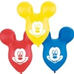Mickey Mouse Party Supplies: Large Ears Latex 5 Pk