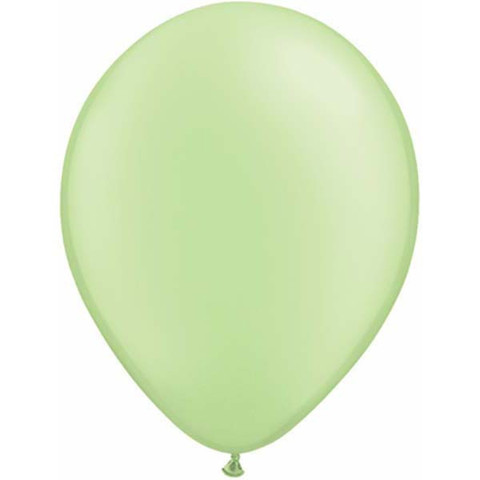 "Neon Green 11"" Latex Balloons 100 Pk"