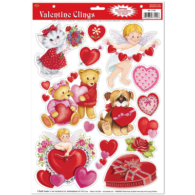 Valentines: Valentine Clings
