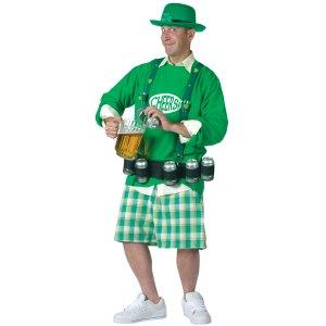 Cheers and Beers Adult Costume Set