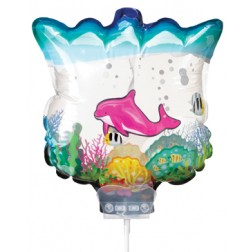 Dolphin Party Supplies: Dolphin Aquarium Inflate A Fun