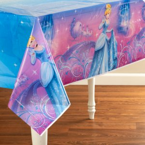 Cinderella  Sparkle Table Cover