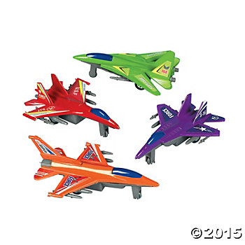 Pullback Racing Jet Fighters - 36 Pack