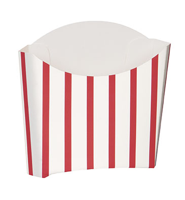 Red Striped Fry Containers 8 Pk