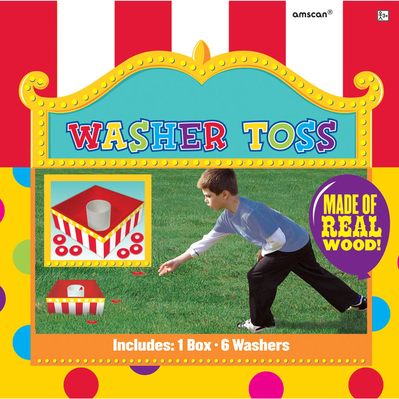 50% Off: Carnival Washer Toss Game