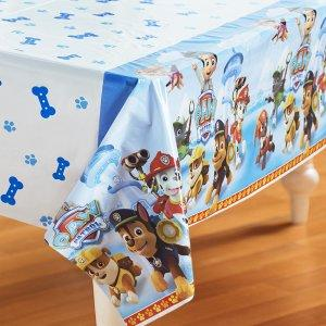 60% Off: Paw Patrol Plastic Printed Tablecover