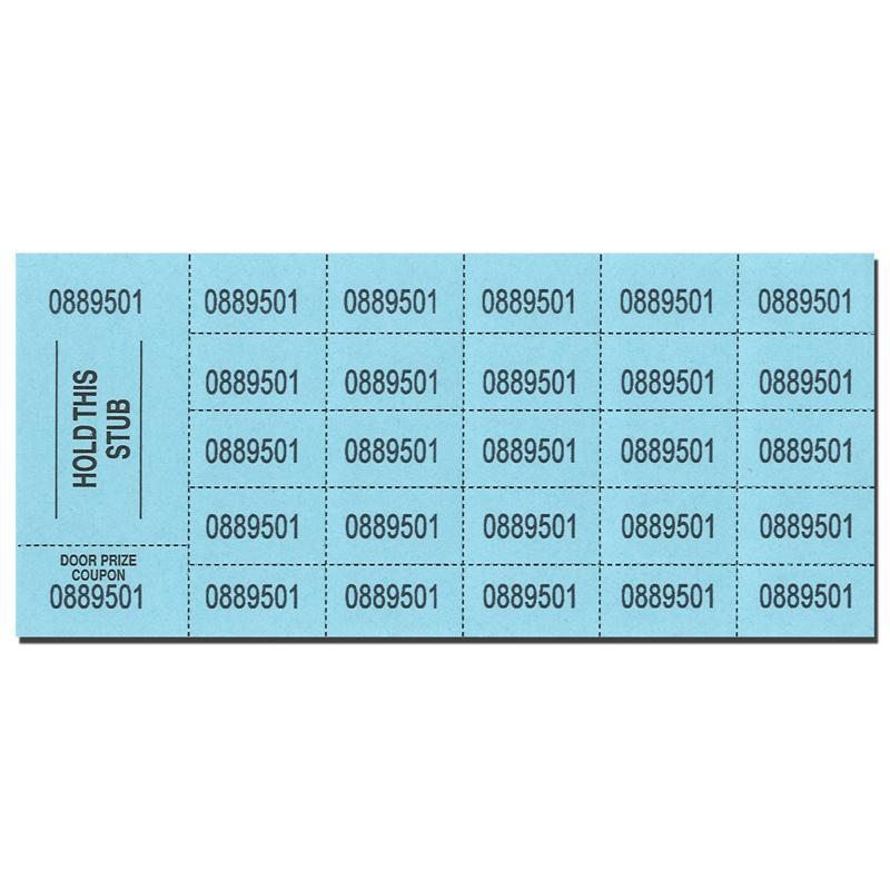 penny raffle ticket sheets 500 pk party supplies canada open a party