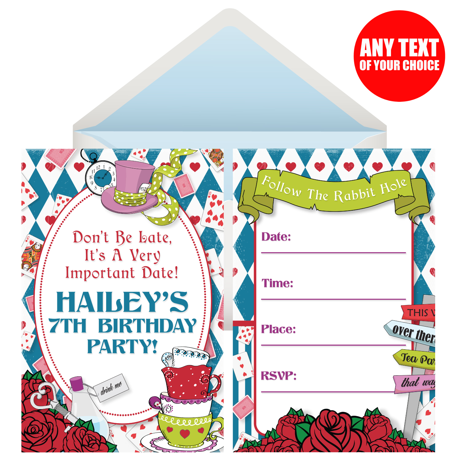 Alice in Wonderland Party Supplies Party Supplies Canada Open A Party