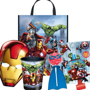 Avengers Large Tote Bag FiLLED