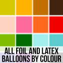 All Foil and Latex Balloons By Colour