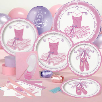 50% OFF: Pink Ballerina Deluxe Party Pack for 16