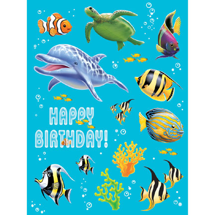 Ocean Party - Sticker Sheets 4 Pk