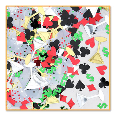 Casino: Casino Night Confetti