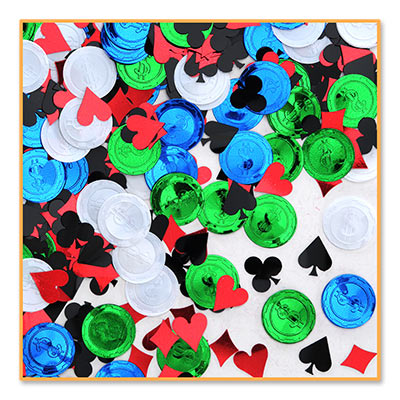 Casino: Poker Party Confetti