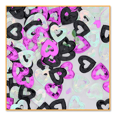 Pretty Hearts Table Confetti