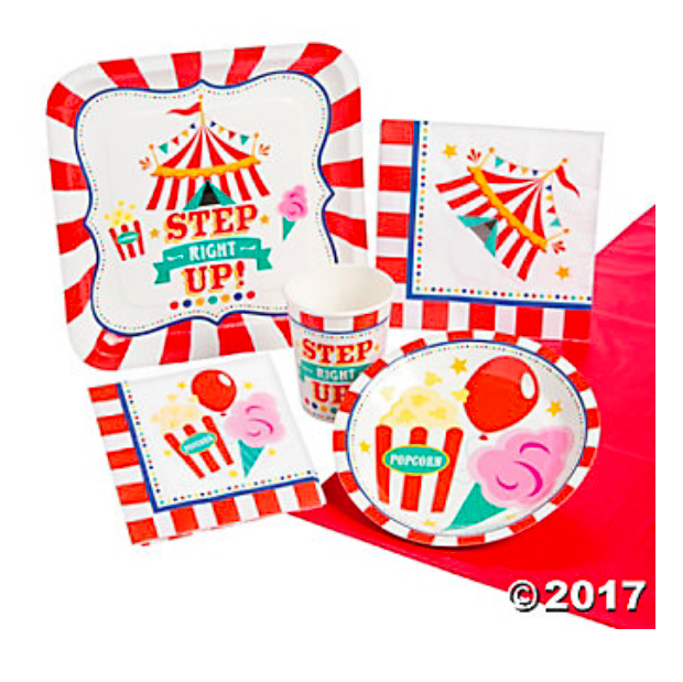 Carnival Step Right Up Party Pack