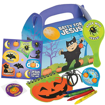 70% OFF: Halloween Christian Filled Loot Box