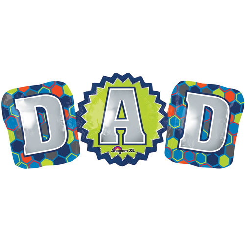 "D-A-D Letters 37"" SuperShape Balloon"