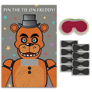 Five Nights At Freddys Party Game Kit