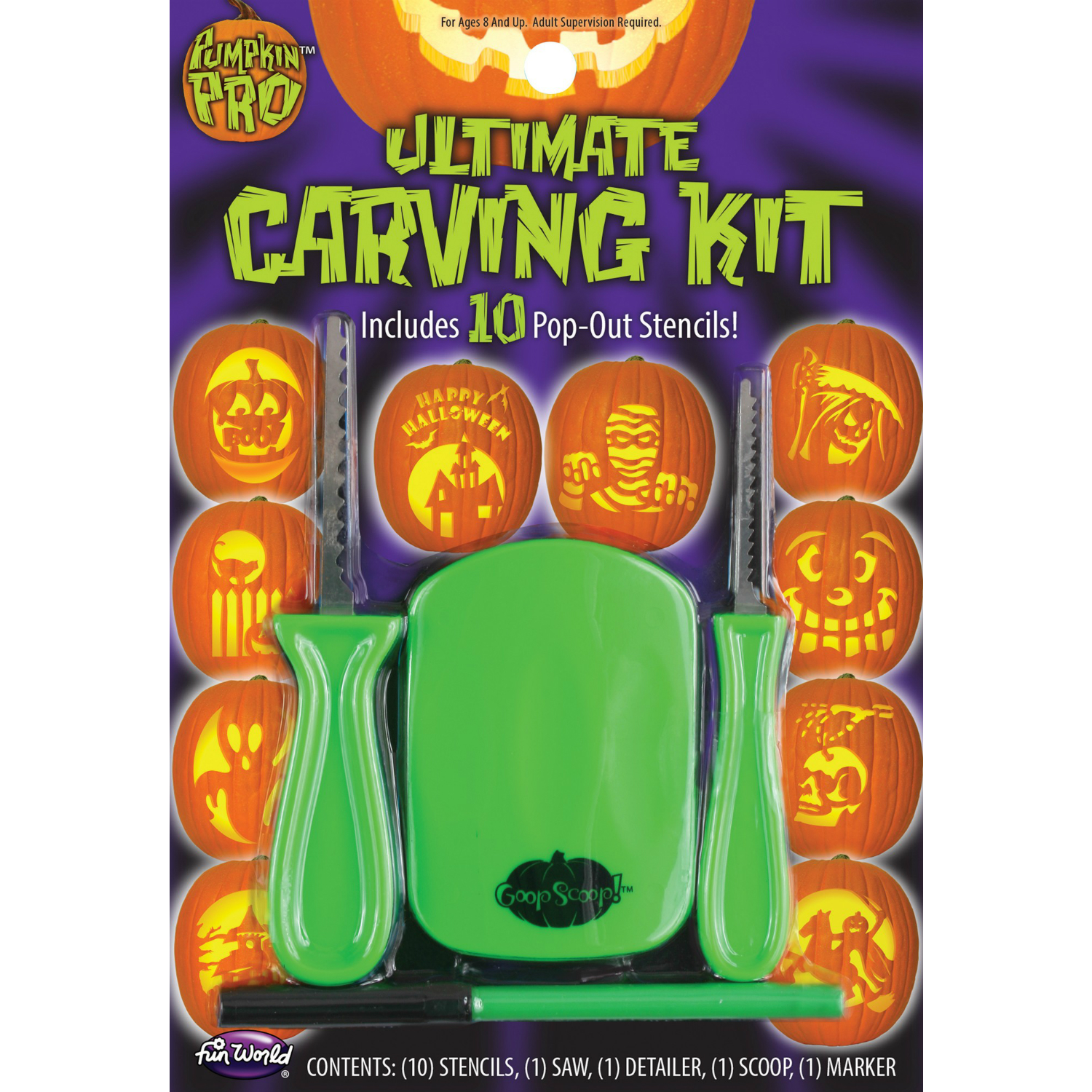 Halloween pumpkin decorating kits canada party supplies