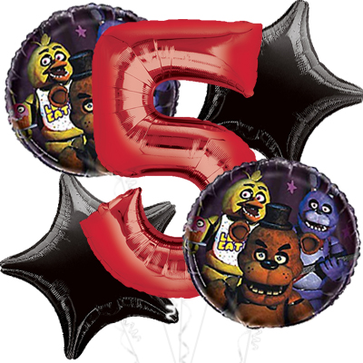 Five Nights At Freddy's Party Supplies Party Supplies Canada Open Classy Boxing Party Theme Decorations
