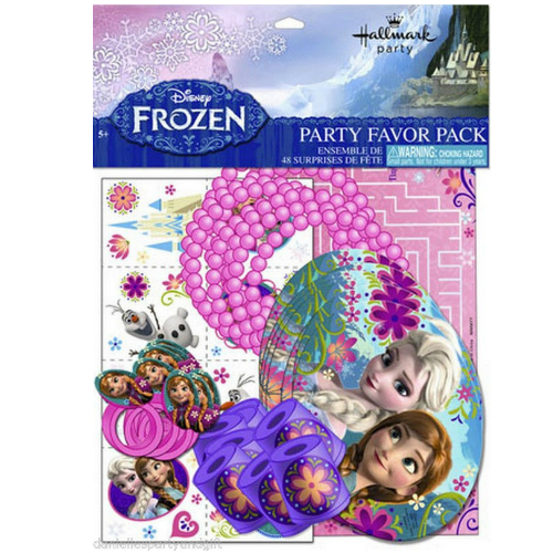 Frozen 48 Piece Frozen Loot Pack for 8 Kids