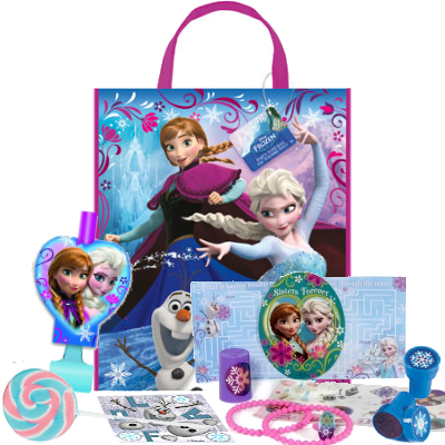 50% OFF: Disney Frozen Big Tote Bag FILLED