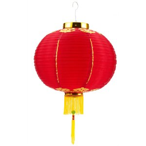 "Chinese 12"" Good Luck Lantern"