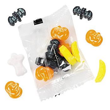 30 off halloween shaped fruit candies pack