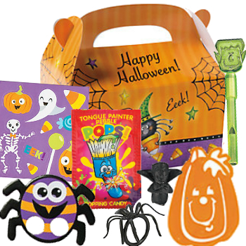 70% OFF: Halloween Loot Box with 7 Toys