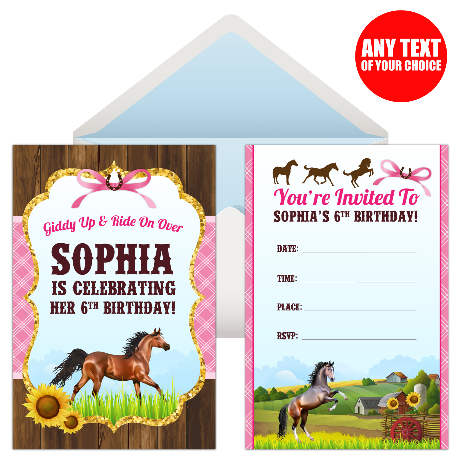 Horse Birthday Party Supplies Party Supplies Canada - Open A Party