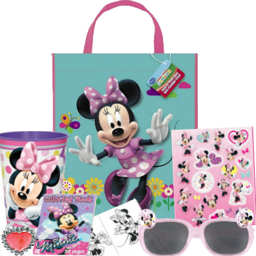 Minnie Mouse Big Filled Tote Bag