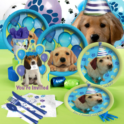 Party Pups Deluxe Party Pack for 16