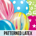 Patterned Latex Balloons