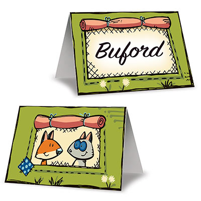 Woodland Friends Place Cards - 8 Pk