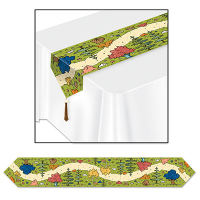 Woodland Friends 6 Ft. Printed Table Runner