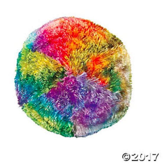 Tie-Dyed Gumboil Pillow - 1Pc