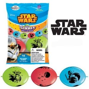 Star Wars Quick Link Banner Balloons 10 pk