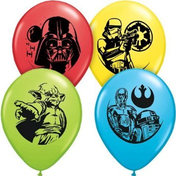 Star Wars Classic Assorted Latex Balloons 25 Pk