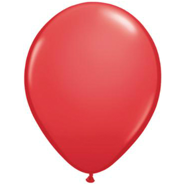 "Red 5"" Latex Balloons 100 Pk"