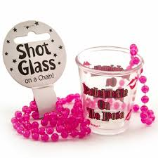 Bachelorette On the Loose Necklace w/Shot Glass