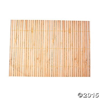 70% OFF:  Bamboo Print Placemats - 50 Pack