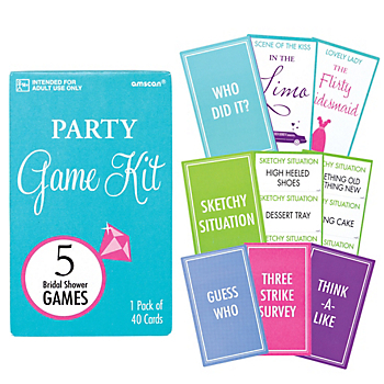 40 Off Bridal Shower Game Kit With 5 Games Party Supplies Canada