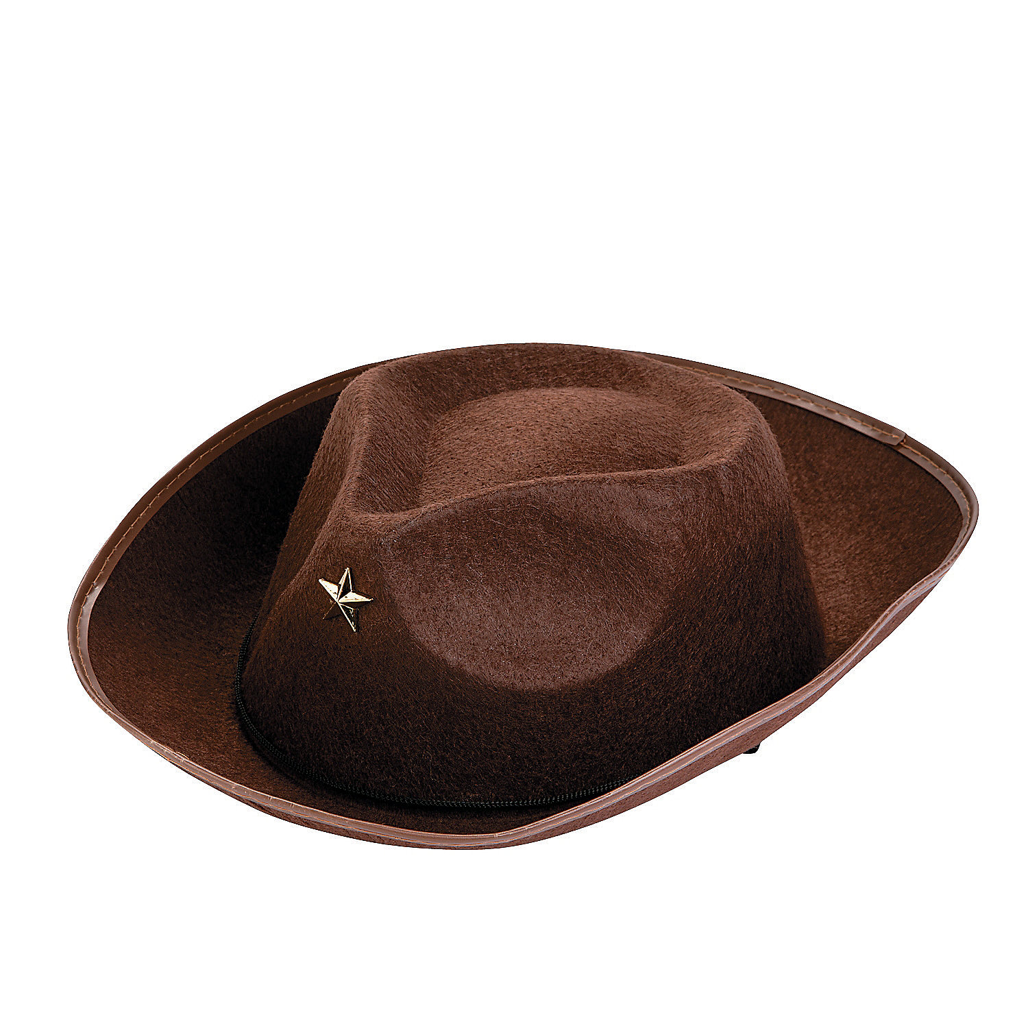 bc323f459953e Child Brown Cowboy Hats with Star - 12pk Party Supplies Canada ...