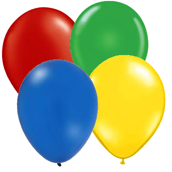 Lego Party Latex Balloons Set - 40 Pack